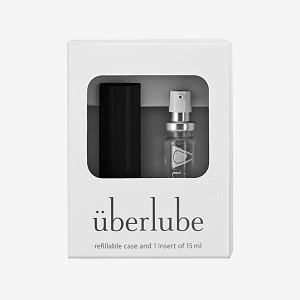 Uberlube Good To Go Traveller - Silicone Lubricant for toys and male chastity cages.